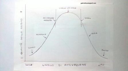 legame ansia - prestazione gabriella castagnoli